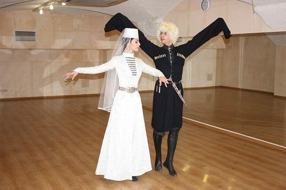 Кавказские танцы